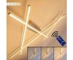 Terrebonne Lámpara de techo LED Acero inoxidable, 1 luz - 4000 Lumen - Moderno/Diseño/vivienda Juvenil - Zona interior - 3000 Kelvin - 3 o 6 días laborables .