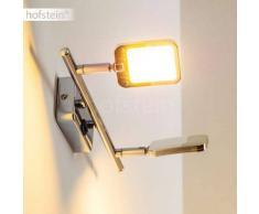 Moosonee Aplique LED Cromo, 2 luces - 800 Lumen - Diseño - Zona interior - 3000 Kelvin - 2 - 4 días laborables .