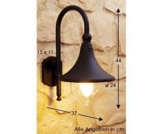 Elgin Aplique para exterior Negro, 1 luz - - Moderno/vivienda Juvenil - Zona exterior - - 2 - 4 días laborables .