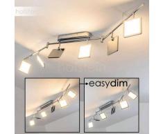 Brilliant URANUS Lámpara de techo LED Cromo, 6 luces - 3000 Lumen - Diseño - Zona interior - 3000 Kelvin - 4 - 8 días laborables .