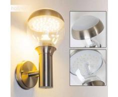 CORDOVA Aplique para Exterior LED Acero inoxidable, 1 luz - 750 Lumen - Moderno - Zona exterior - 3000 Kelvin - 4 - 8 días laborables .