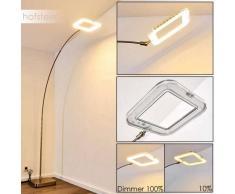 Vimpeli Lámpara de Pie LED Níquel-mate, 1 luz - 1500 Lumen - Moderno/Diseño - Zona interior - 3000 Kelvin - 2 - 4 días laborables .