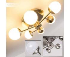 KENAI Lámpara de Techo LED Níquel-mate, 6 luces - 1800 Lumen - Moderno - Zona interior - 3200 Kelvin - 4 - 8 días laborables .
