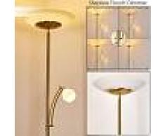 Herbrug Lámpara de Pie LED Latón, 2 luces - 600/3000 Lumen - Diseño - Zona interior - 3000 Kelvin - 2 - 3 semanas .