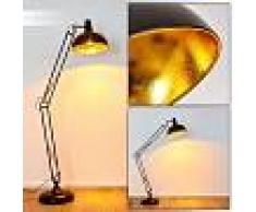 Sharif Lámpara de Pie Negro, 1 luz - - Moderno - Zona interior - - 2 - 3 semanas .