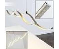 Lámpara Colgante Kurikko LED Níquel-mate, 1 luz - 2550 Lumen - Moderno - Zona interior - 3000 Kelvin - 6 o 10 días laborables .
