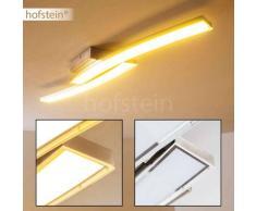 Deseronto Lámpara de techo LED Níquel-mate, 2 luces - 1500 Lumen - Moderno/Diseño - Zona interior - 3000 Kelvin - 2 - 3 semanas .