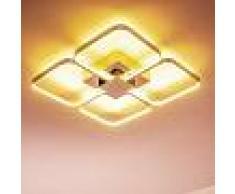 Sepino Lámpara de techo LED Cromo, 1 luz - 1500 Lumen - Diseño/vivienda Juvenil - Zona interior - 3000 Kelvin - 3 o 6 días laborables .