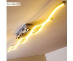 Embree Lámpara de techo LED Acero inoxidable, 2 luces - 600 Lumen - Moderno/Diseño/vivienda Juvenil - Zona interior - 3000 Kelvin - 2 - 4 días laborables .