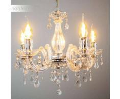 Edson Lámpara de araña Cromo, 5 luces - - Clásico - Zona interior - - 4 - 8 días laborables .