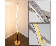 Inbyn Lámpara de Pie LED Níquel-mate, 1 luz - 1680 Lumen - Moderno - Zona interior - 3000 Kelvin - 2 - 4 días laborables .