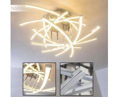 Cormack Lámpara de techo LED Cromo, 10 luces - 4000 Lumen - Moderno - Zona interior - 3000 Kelvin - 4 - 8 días laborables .