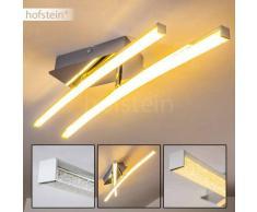 Georgina Lámpara de techo LED Cromo, 2 luces - 1000 Lumen - Diseño - Zona interior - 3000 Kelvin - 4 - 8 días laborables .