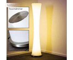 Florencia Lámpara de pie LED Níquel-mate, 1 luz - 4400 Lumen - Moderno - Zona interior - 3200 Kelvin - 4 - 8 días laborables .
