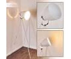 Tanhua Lámpara de Pie Blanca, 1 luz - - Clásico/Industrial - Zona interior - - 3 o 6 días laborables .