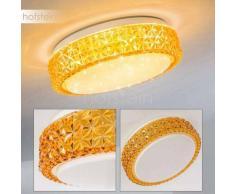 Soppero Lámpara de Techo LED Colores ámbar, 1 luz - 960 Lumen - Diseño - Zona interior - 3000 Kelvin - 4 - 8 días laborables .