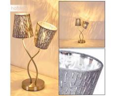 Liared Lámpara de Mesa Plata, 2 luces - - Moderno/Diseño/Industrial - Zona interior - - 3 o 6 días laborables .