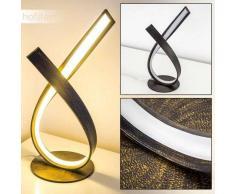 Lámpara de Mesa Medle LED Color óxido, 1 luz - 910 Lumen - Diseño - Zona interior - 3000 Kelvin - 2 - 4 días laborables .