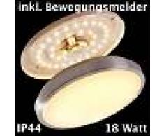 Wutach Lámpara de techo LED Blanca, 1 luz - 1380 Lumen - Moderno/vivienda Juvenil/Básico - Zona interior - 3000 Kelvin - 3 o 6 días laborables .