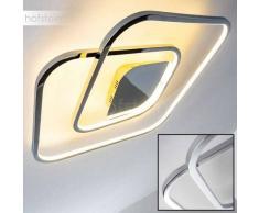Brantford Lámpara de techo LED Cromo, 1 luz - 1530 Lumen - Diseño - Zona interior - 3000 Kelvin - 4 - 8 días laborables .