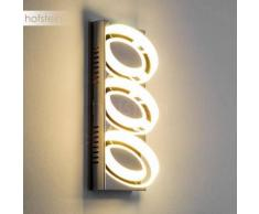 Moengo Aplique LED Cromo, 3 luces - 220 Lumen - Diseño - Zona interior - 3000 Kelvin - 2 - 4 días laborables .