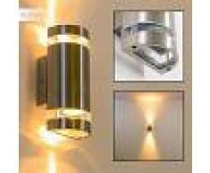 Maturin Aplique para exterior Acero inoxidable, 2 luces - - Moderno - Zona exterior - - 3 o 6 días laborables .