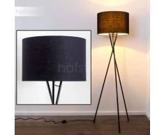 Globo Gustav Lámpara de pie Negro, 1 luz - - Diseño - Zona interior - - 4 - 8 días laborables .