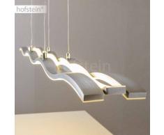 Hopedale Lámpara colgante LED Níquel-mate, Cromo, 1 luz - 4200 Lumen - Moderno - Zona interior - 3000 Kelvin - 8 - 12 días laborables .