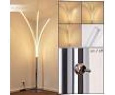 Horpmaal Lámpara de Pie LED Cromo, 3 luces - 1320 Lumen - Moderno/Diseño - Zona interior - 3000 Kelvin - 2 - 3 semanas .