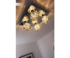 Monterrey Lámpara de techo Cromo, Aluminio, 4 luces - - Diseño - Zona interior - - 2 - 4 días laborables .