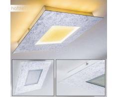 Rautas Lámpara de Techo LED Plata, 2 luces - 1440 Lumen - Moderno - Zona interior - 3000 Kelvin - 4 - 8 días laborables .