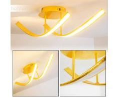 Lámpara de Techo Aranu LED dorado, 2 luces - 1075 Lumen - Moderno - Zona interior - 3000 Kelvin - 4 - 8 días laborables .
