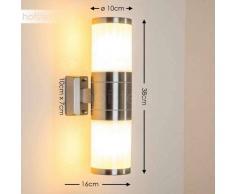 TOLSONA Aplique para Exterior Acero inoxidable, 2 luces - - Moderno - Zona exterior - - 4 - 8 días laborables .