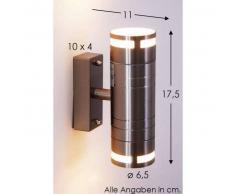 Selve Aplique para exterior Acero inoxidable, 2 luces - - Diseño - Zona exterior - - 4 - 8 días laborables .
