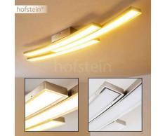 Deseronto Lámpara de techo LED Níquel-mate, Cromo, 3 luces - 700/2100 Lumen - Moderno/Diseño - Zona interior - 3000 Kelvin - 4 - 8 días laborables .