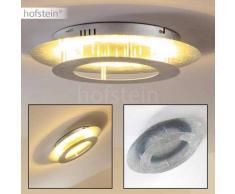 Springdale Lámpara de techo LED Plata, 11 luces - 1440 Lumen - Diseño - Zona interior - 3000 Kelvin - 2 - 4 días laborables .