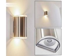 Rumar Aplique para exterior LED Acero inoxidable, 1 luz - 800 Lumen - Moderno - Zona exterior - 3000 Kelvin - 3 o 6 días laborables .