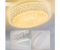 Soppero Lámpara de Techo LED Blanca, 1 luz - 1920 Lumen - Diseño - Zona interior - 3000 Kelvin - 4 - 8 días laborables .
