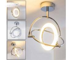Globo ORELL Lámpara de techo LED Cromo, 1 luz - 1800 Lumen - Moderno/Diseño - Zona interior - 3200 Kelvin - 4 - 8 días laborables .