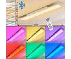Voisines Lámpara de Techo LED Blanca, 1 luz - 4300 Lumen - Moderno/Diseño/vivienda Juvenil - Zona interior - 2700-6500 Kelvin - 10 o 14 días laborables .