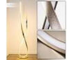 Lámpara de Pie Medle LED Níquel-mate, 1 luz - 2400 Lumen - Diseño - Zona interior - 3000 Kelvin - 6 o 10 días laborables .