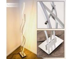 Kardis Lámpara de Pie LED Cromo, Aluminio, 1 luz - 1440 Lumen - Diseño - Zona interior - 3000 Kelvin - 4 - 8 días laborables .