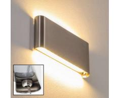 Galindo Aplique LED Acero bruñido, 1 luz - 1000 Lumen - Moderno/Diseño - Zona interior - 3000 Kelvin - 4 - 8 días laborables .