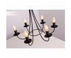 Honsel Alena Lámpara de araña Color óxido, 6 luces - - Diseño - Zona interior - - 3 o 6 días laborables .
