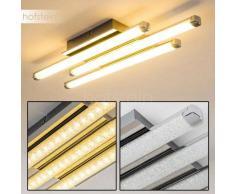 ISKUT Lámpara de Techo LED Cromo, 3 luces - 1200 Lumen - Moderno - Zona interior - 3000 Kelvin - 4 - 8 días laborables .
