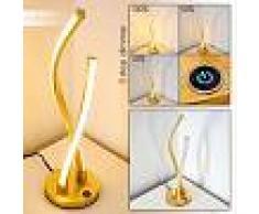 Tervo Lámpara de Mesa LED dorado, 2 luces - 700 Lumen - Diseño - Zona interior - 3000 Kelvin - 3 o 6 días laborables .