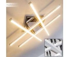 Fischer Lámpara de techo LED Cromo, Aluminio, 1 luz - 1320 Lumen - Diseño - Zona interior - 3000 Kelvin - 2 - 4 días laborables .