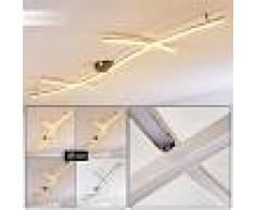 Boerenhol Lámpara de Techo LED Acero inoxidable, 2 luces - 600 Lumen - Moderno/vivienda Juvenil - Zona interior - 3000 Kelvin - 3 o 6 días laborables .