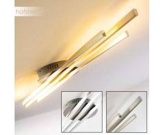 BIBIONE Lámpara de Techo LED Acero bruñido, 1 luz - 1600 Lumen - Moderno - Zona interior - 3000 Kelvin - 2 - 4 días laborables .