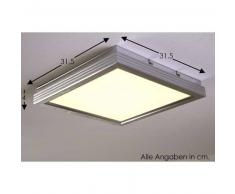 Flat Lámpara de techo LED Aluminio, 1 luz - 1500 Lumen - Moderno - Zona interior - 3000 Kelvin - 4 - 8 días laborables .